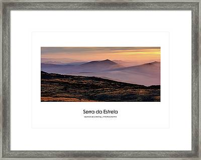 Framed Print featuring the photograph Mountain Mist Poster by Marion McCristall
