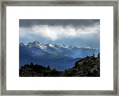 Mountain Moodiness Framed Print