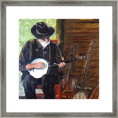 Mountain Music Framed Print