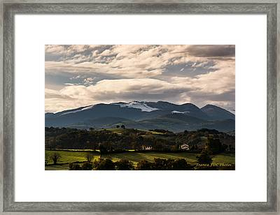 Mountain Of France Framed Print