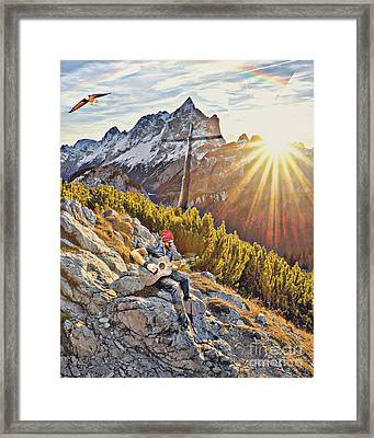 Mountain Of The Lord Framed Print