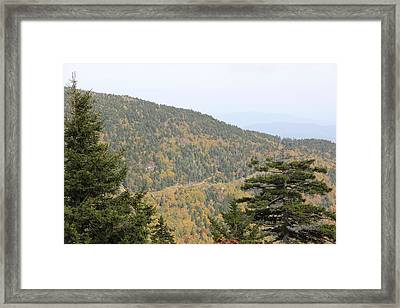 Mountain Passage Framed Print