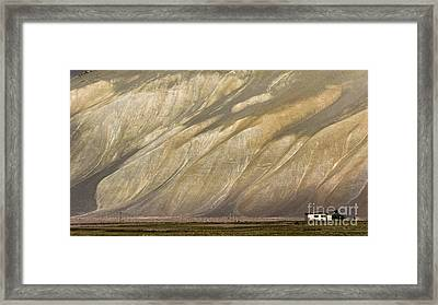Mountain Patterns, Padum, 2006 Framed Print
