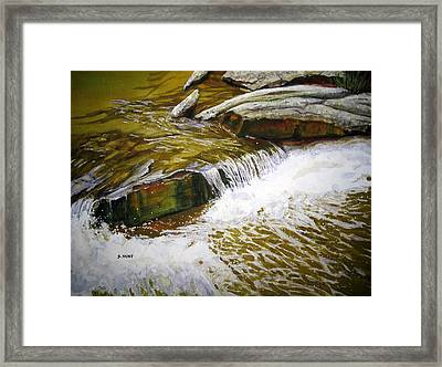 Mountain Refreshment Framed Print