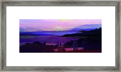 Mountain Retreat Framed Print