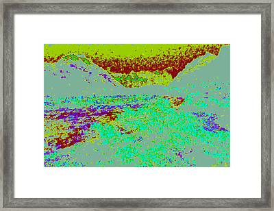 Mountain River D4 Framed Print by Modified Image