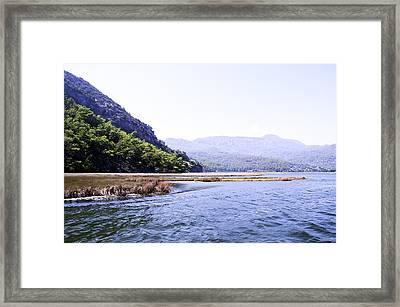 Mountain River Framed Print by Svetlana Sewell
