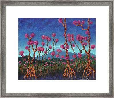 Mountain Roots 01 Framed Print