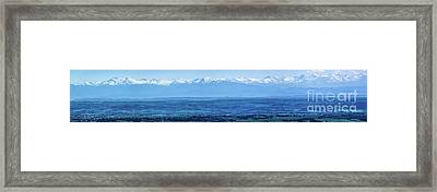 Mountain Scenery 16 Framed Print by Jean Bernard Roussilhe