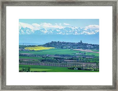Mountain Scenery 17 Framed Print by Jean Bernard Roussilhe