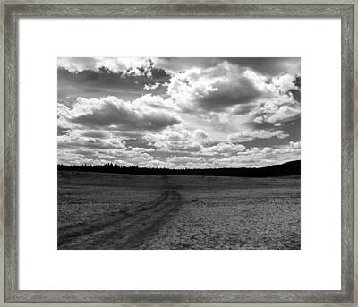 Mountain Skyscape Framed Print