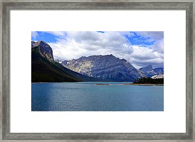 Upper Kananaskis Lake Framed Print