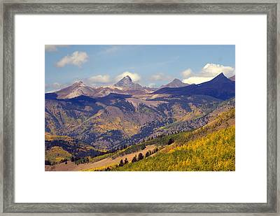 Mountain Splendor 2 Framed Print by Marty Koch