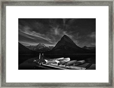 Mountain Stars Framed Print