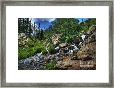 Mountain Stream 3 Framed Print by Pete Hellmann