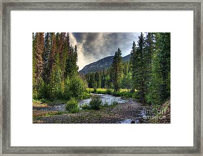 Mountain Stream 4 Framed Print by Pete Hellmann