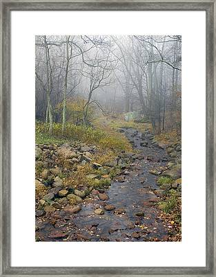 Framed Print featuring the photograph Mountain Stream by Alan Raasch