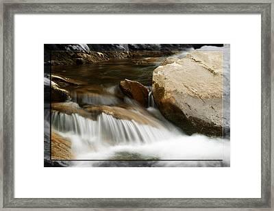 Mountain Stream B Framed Print by Robert Clayton
