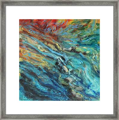 Mountain Stream Framed Print by Rick Nederlof