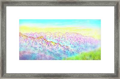 Mountain Sunrise Awakenings Framed Print