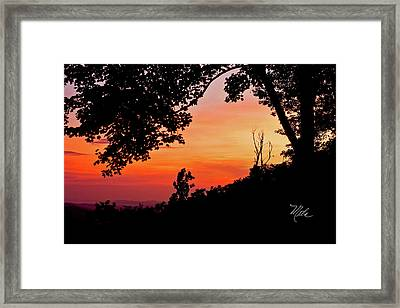 Mountain Sunrise Framed Print