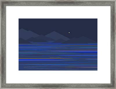 Mountain Tops Framed Print