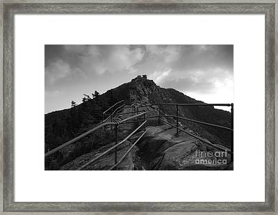 Mountain Trail Framed Print by David Lee Thompson
