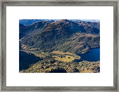 Mountain Valley Framed Print