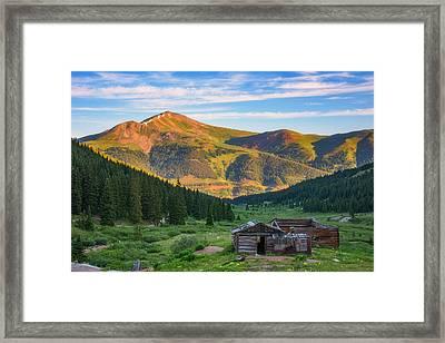 Mountain Views Framed Print