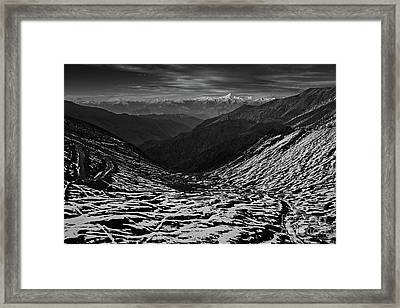 Mountaineers Dream Framed Print