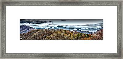 Framed Print featuring the photograph Mountains 2 by Walt Foegelle