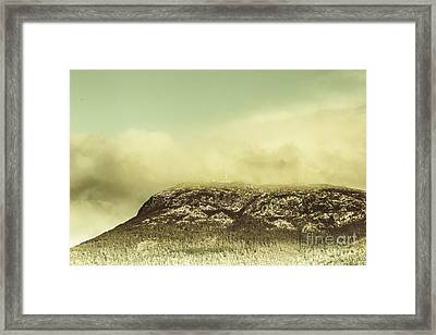 Mountains And Peaks Framed Print by Jorgo Photography - Wall Art Gallery