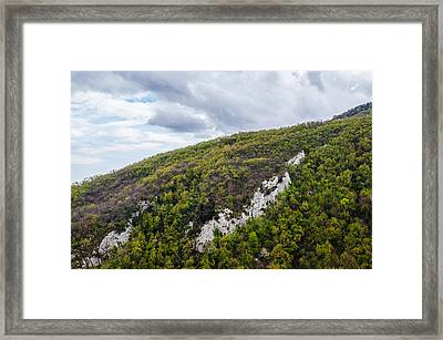 Mountains And Skies Framed Print by Andrea Mazzocchetti