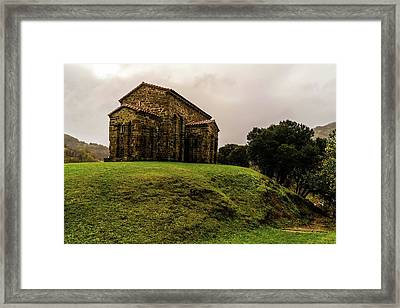 Mountains And Valleys All Around Framed Print