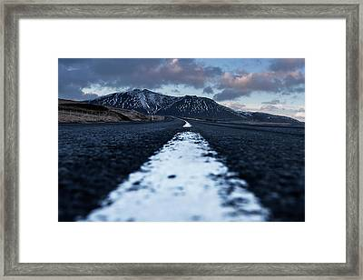 Framed Print featuring the photograph Mountains In Iceland by Pradeep Raja Prints