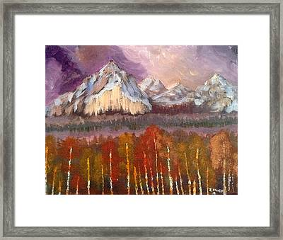 Mountains  Framed Print by My Art