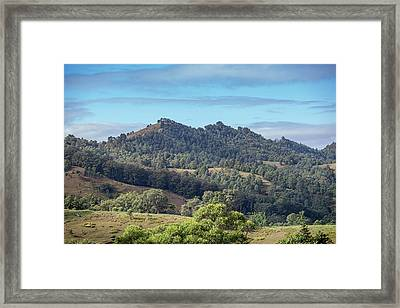 Mountains Of The Hunter Framed Print by Az Jackson