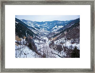 Mountains Framed Print by Svetlana Sewell