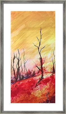 Mountainside #1 Framed Print