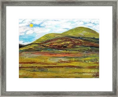 Mountaiscape 2  Framed Print