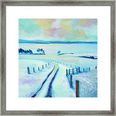 Mountpleasant Winter Framed Print by Stephanie  Maclean