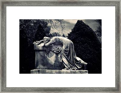 Mournful Framed Print by Jessica Jenney