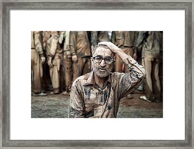 Mourning Framed Print by Mohammadreza Momeni