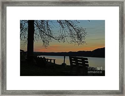 Mourning Silence Framed Print