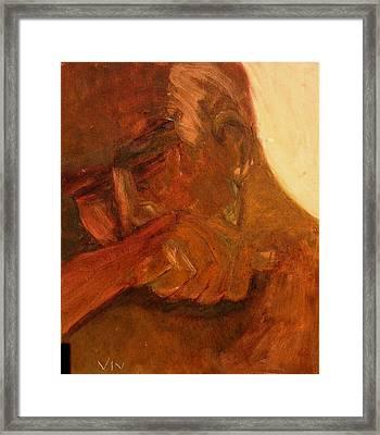 Mourning - Apres Paris Framed Print