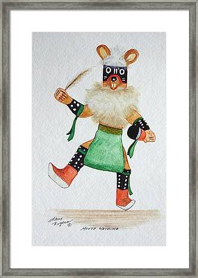 Mouse Framed Print by Mary Rogers