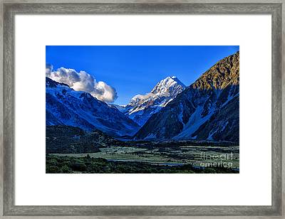 Moutain Valley Framed Print by Rick Bragan