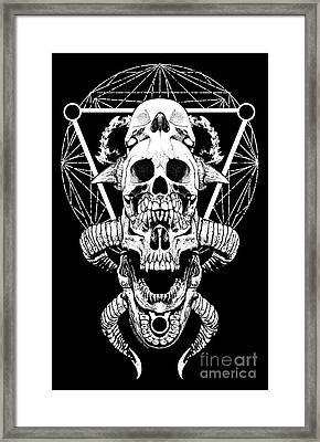 Mouth Of Doom Framed Print