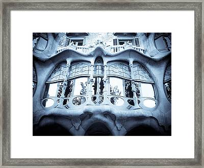 Mouth Framed Print