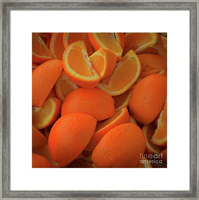 Mouth Watering Framed Print